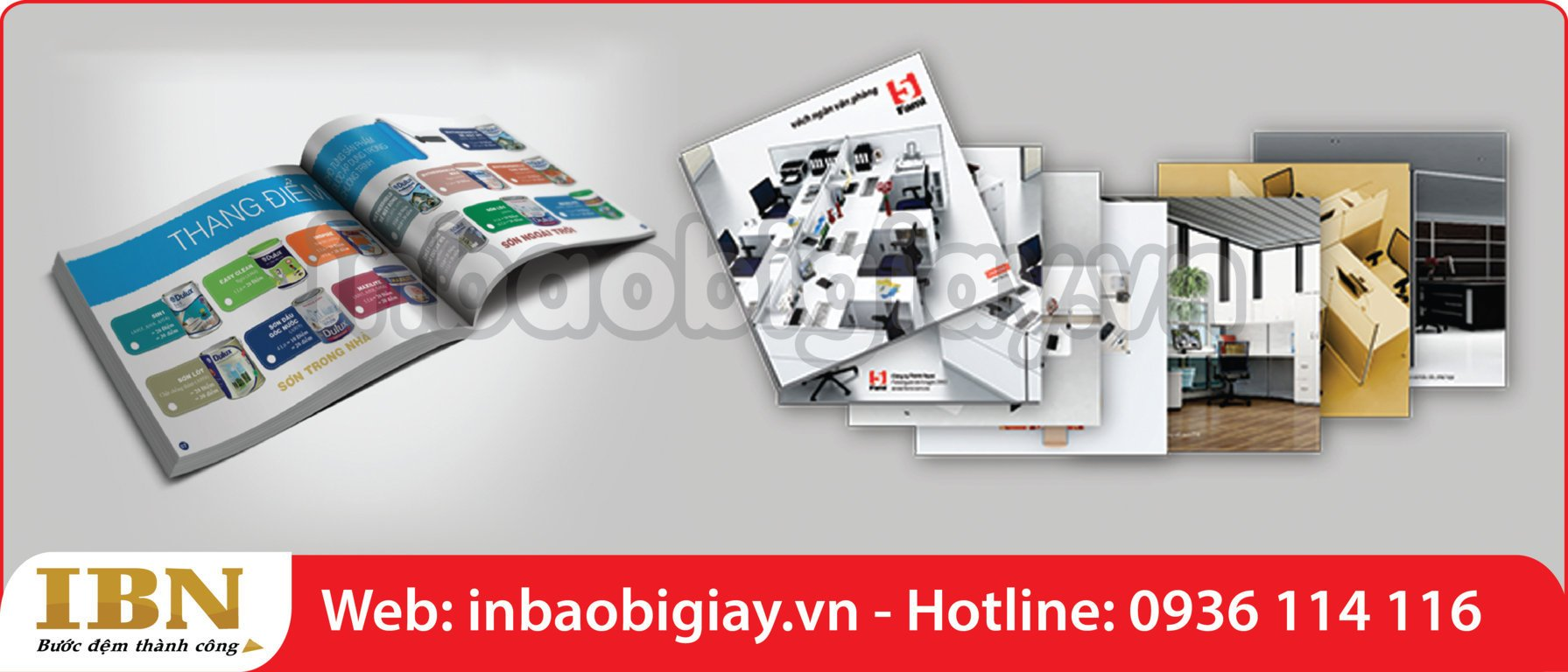 in catalogue quảng cáo