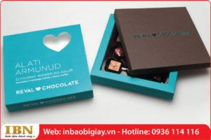 mẫu in hộp đựng socola giá rẻ