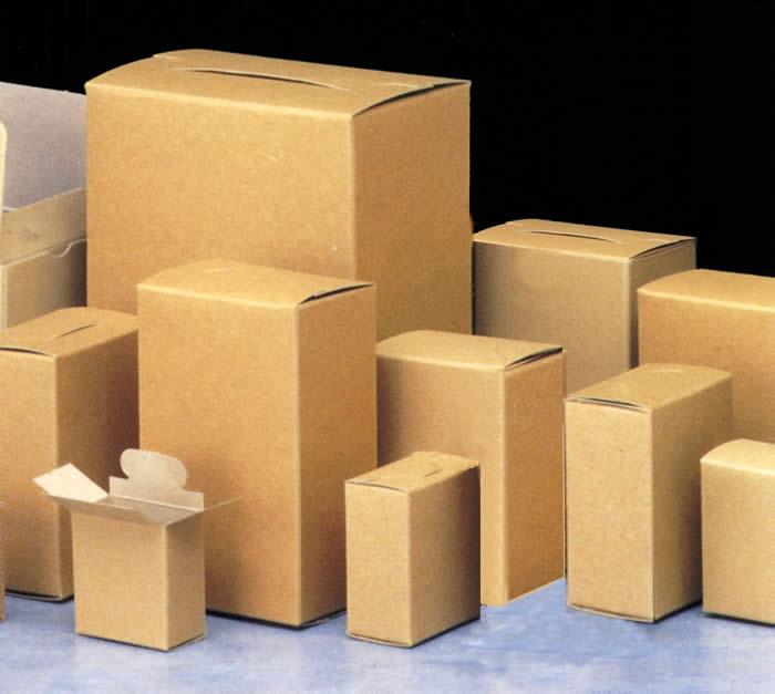 hộp giấy không in