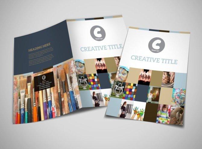 mẫu brochure đẹp