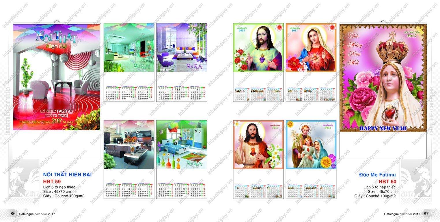 in ấn lịch tờ đẹp 2017 hcm