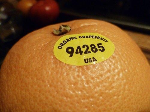 Mã số 9 biểu thị sản phẩm hữu cơ