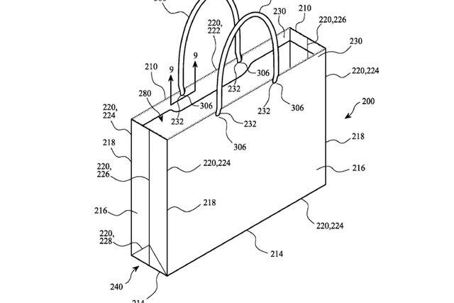 Mẫu túi giấy của Apple