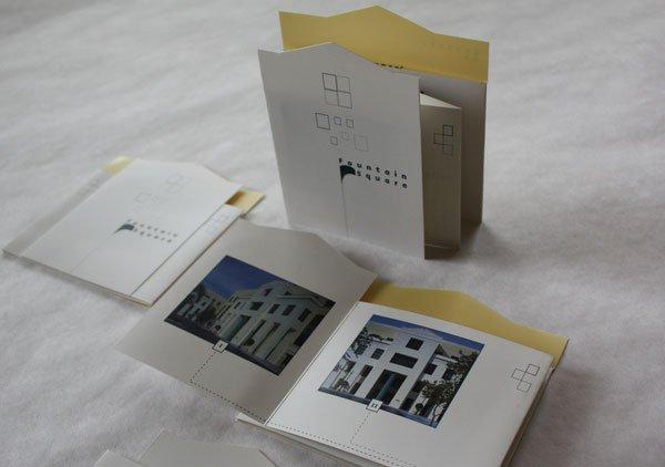 Cắt và gấp tạo sự phá cách cho brochure