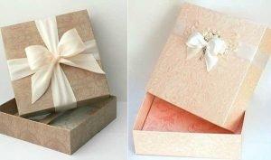 In hộp giấy đựng qua nhỏ xinh
