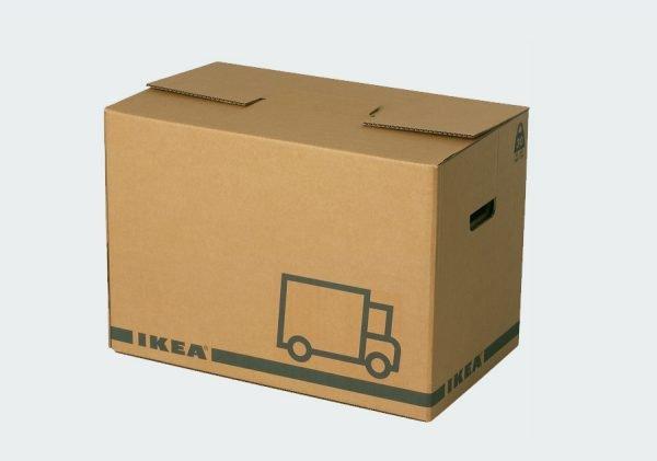 In thùng carton để vận chuyển hàng hóa