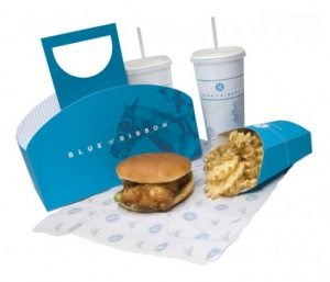 In túi giấy đựng thực phẩm mang đi
