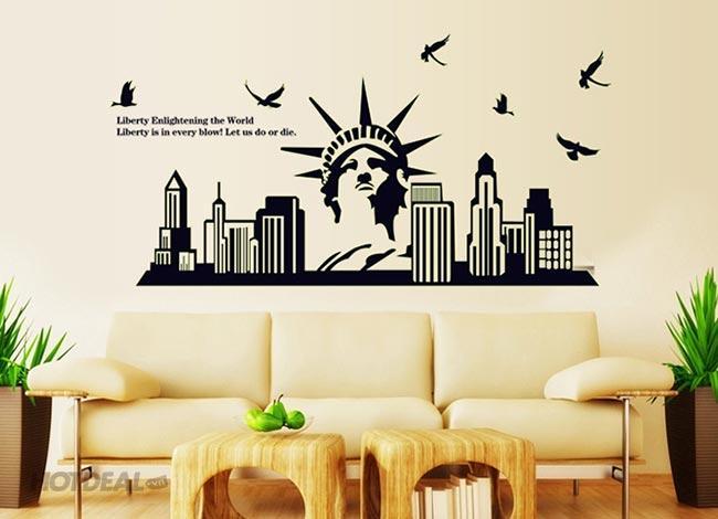 thiết kế decal dán tường