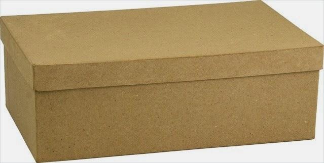 mẫu hộp đựng giày kraft