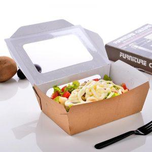 mẫu hộp giấy đựng thực phẩm