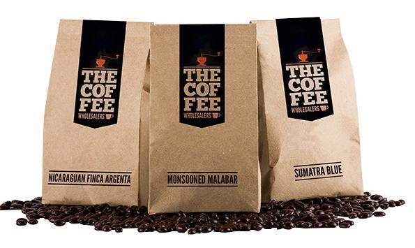 Mẫu in túi giấy kraft đựng cà phê