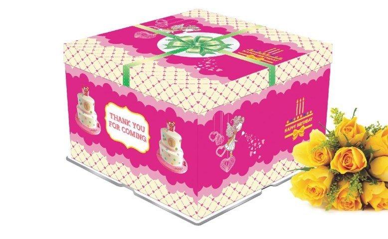 Mẫu hộp bánh sinh nhật đẹp