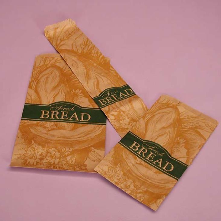 in túi giấy đựng bánh mì ngon