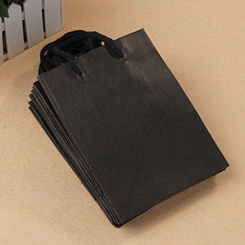 in túi giấy kraft đen đẹp