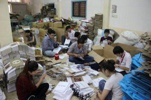 Xưởng in bao bì giấy bảo ngọc