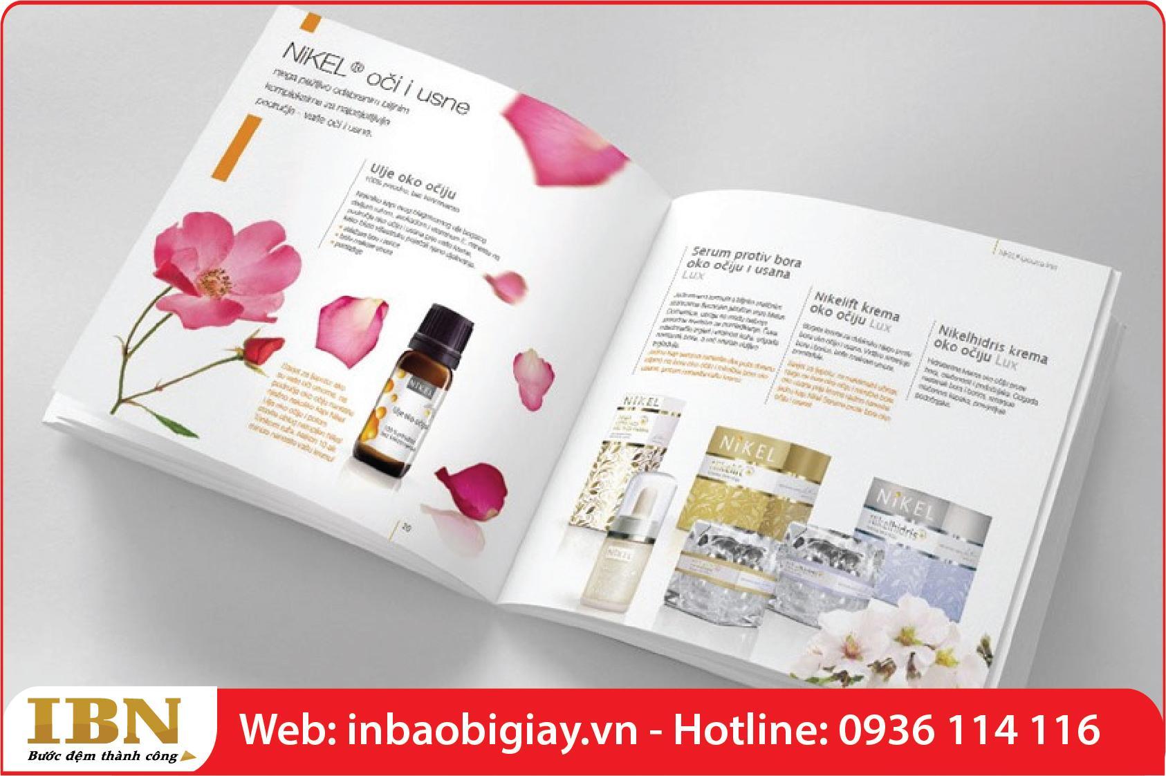 in catalog mỹ phẩm tinh dầu