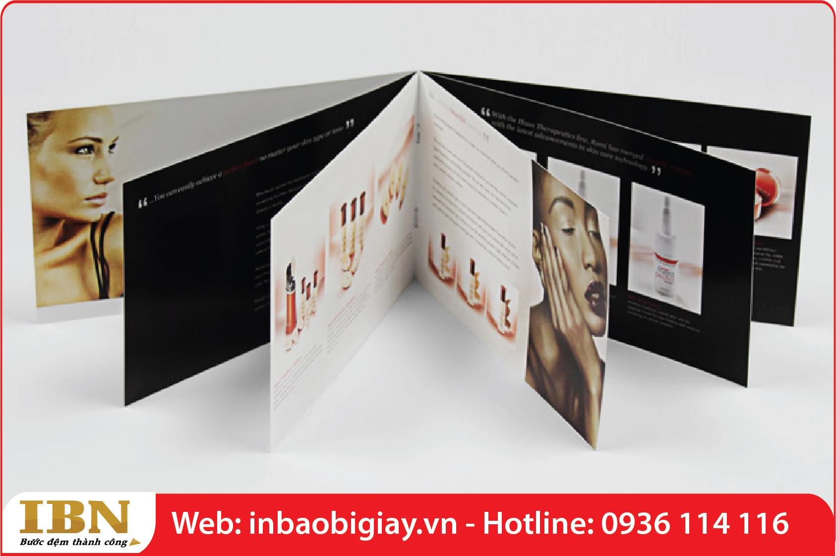 in catalog mỹ phẩm tại tphcm