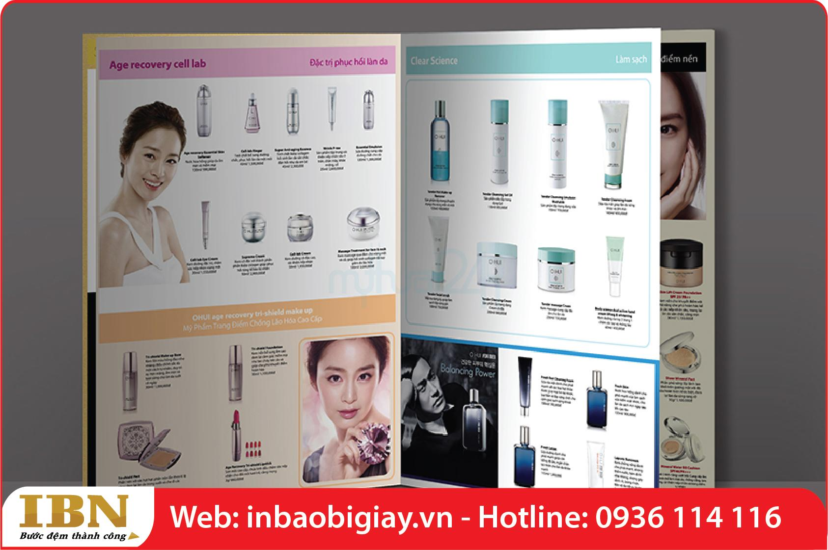 mẫu in catalogue tphcm