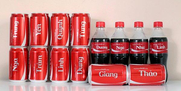 Bao bì độc đáo của Coca Cola