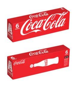Bao bì thương hiệu Coca Cola