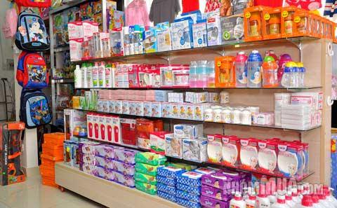 kinh doanh cửa hàng mẹ và bé