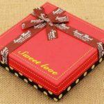 hộp bánh socola đẹp