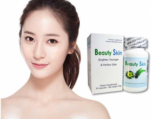 vien uong trang da beauty skin