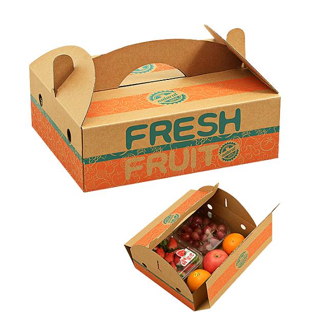 Mẫu thùng carton đựng trái cây