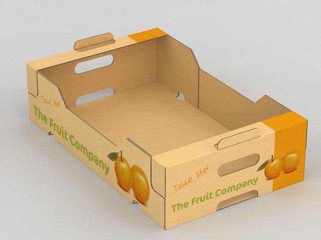 Mẫu thùng carton trái cây