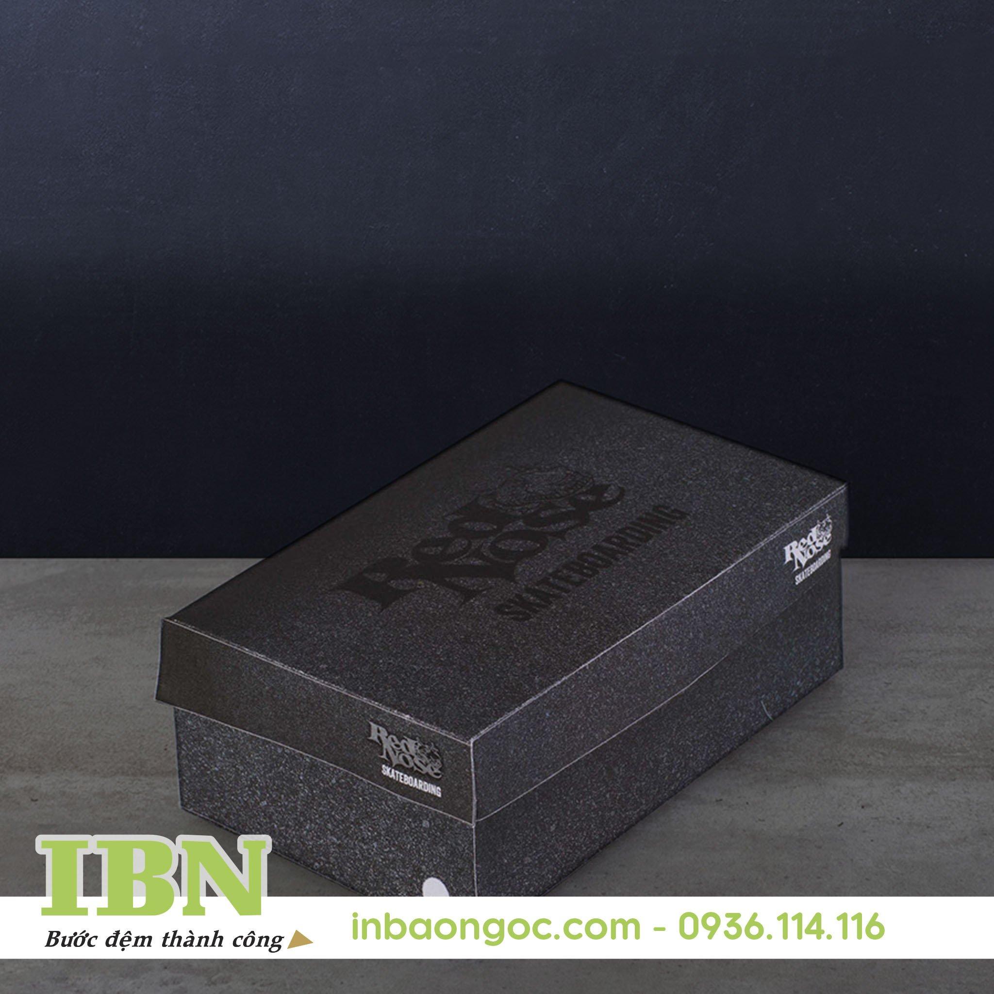 mẫu in hộp giày