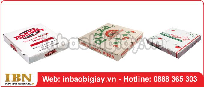 Mẫu hộp bánh pizza đẹp