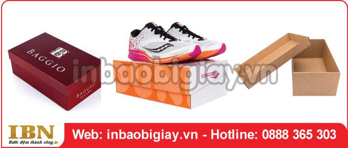 Mẫu hộp đựng giày