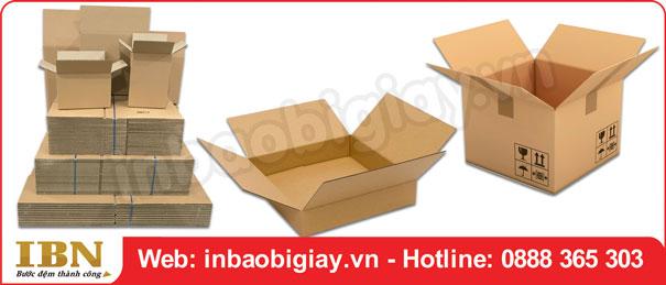 Mẫu thùng carton chất lượng