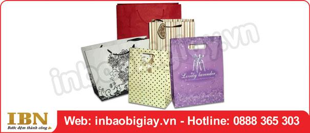 Mẫu túi giấy mỹ phẩm thu hút