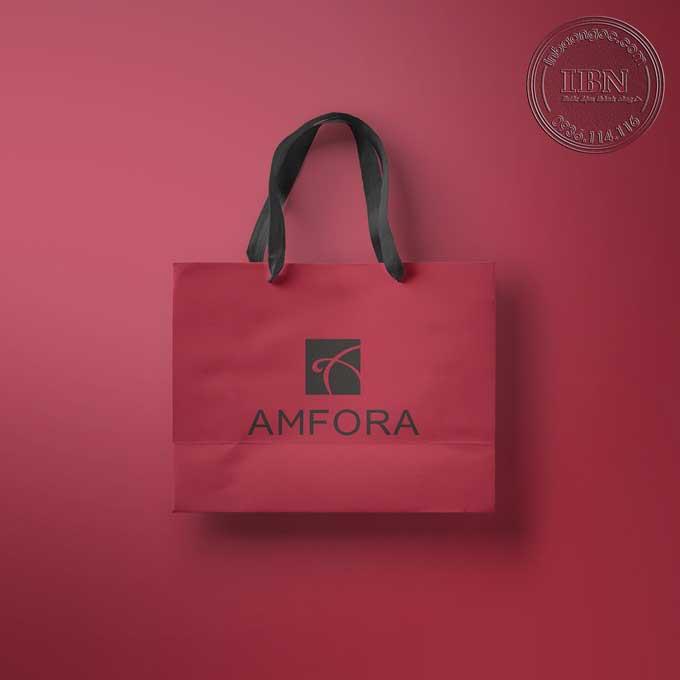 Mẫu túi giấy thời trang AMFORA