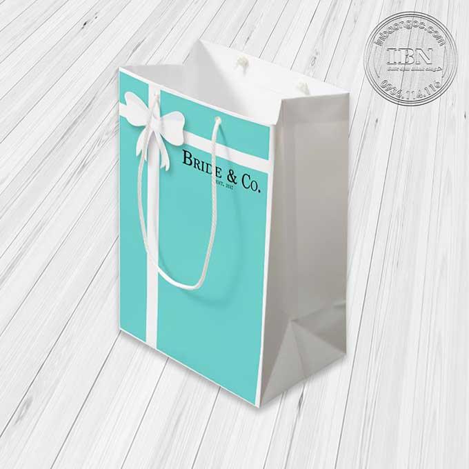 Mẫu túi giấy quà tặng