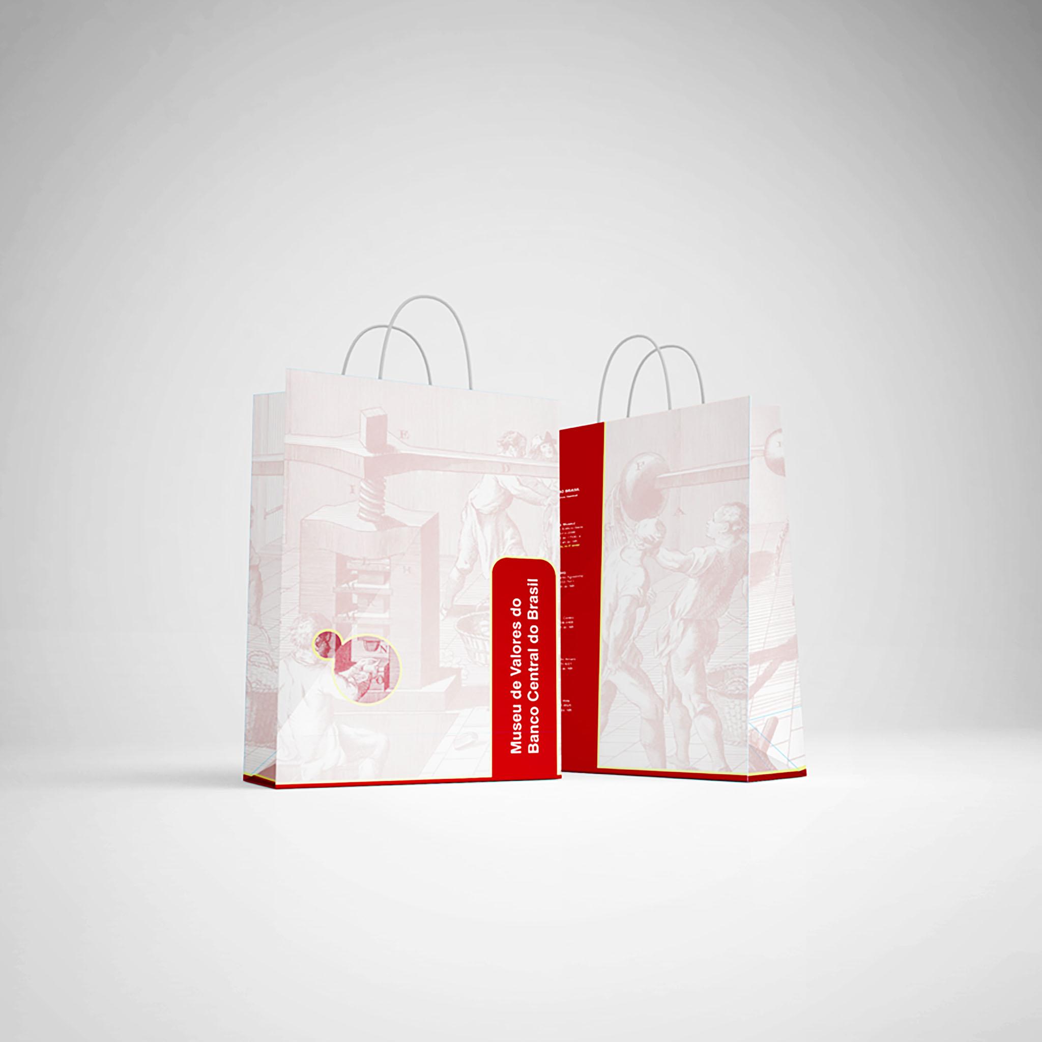 Mẫu bao bì túi giấy cho shop