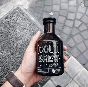 mẫu tem nhãn decal cho chai cà phê đẹp