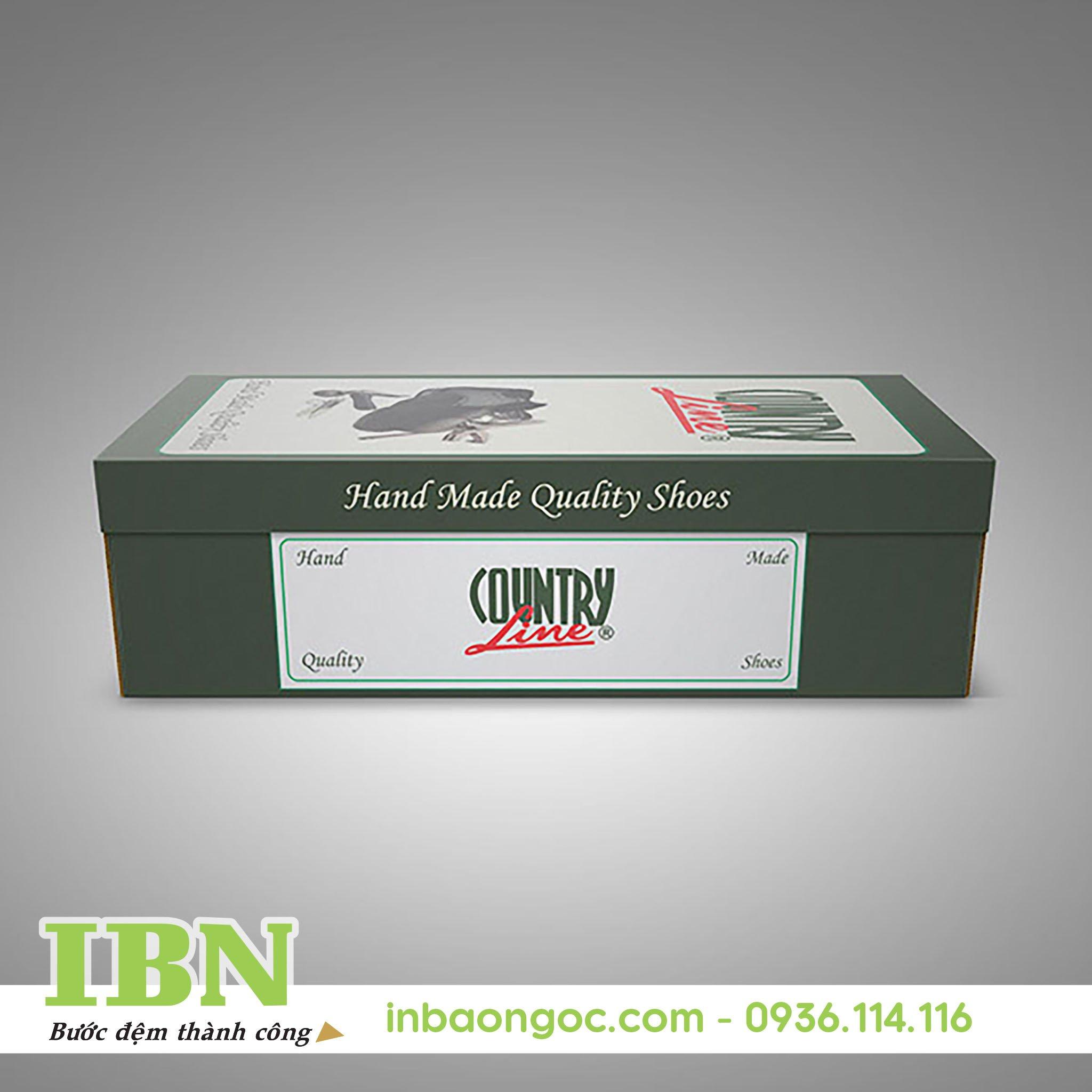 Mẫu hộp giấy đựng giày đẹp 02