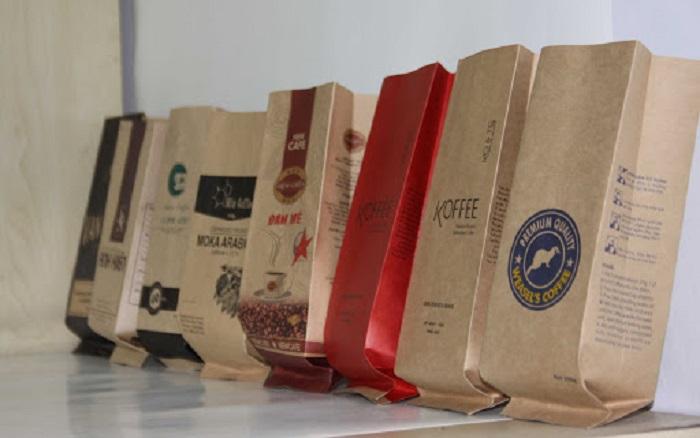túi giấy coffee
