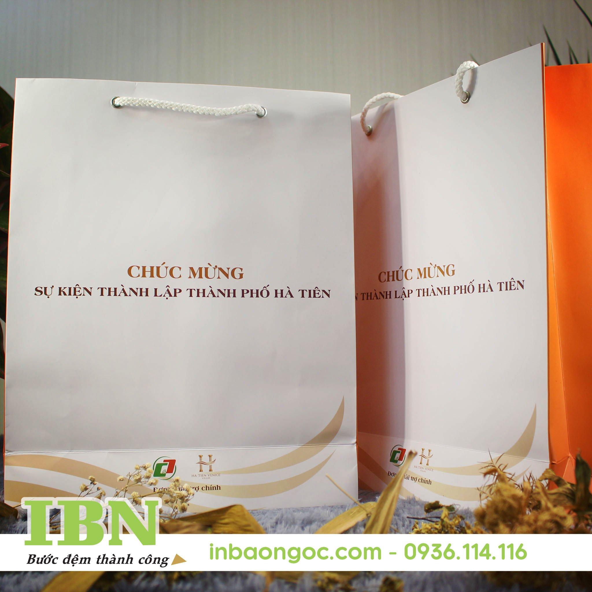 in túi giấy bằng công nghệ in offset
