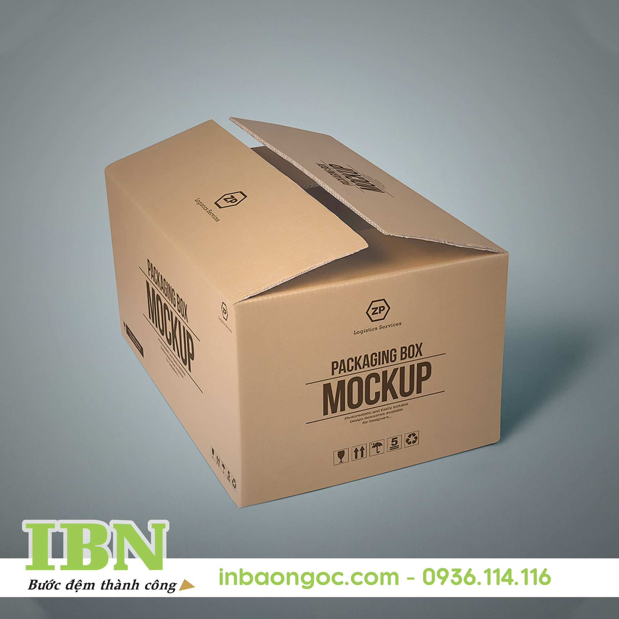 in thừng carton bằng công nghệ in offset