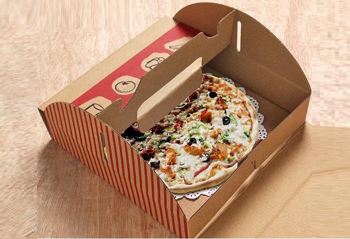 in hộp fastfood có quai giá rẻ