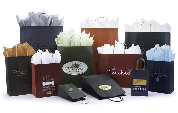 các mẫu túi giấy phổ biến