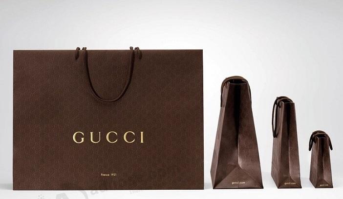 túi giấy các thương hiệu thời trang gucci