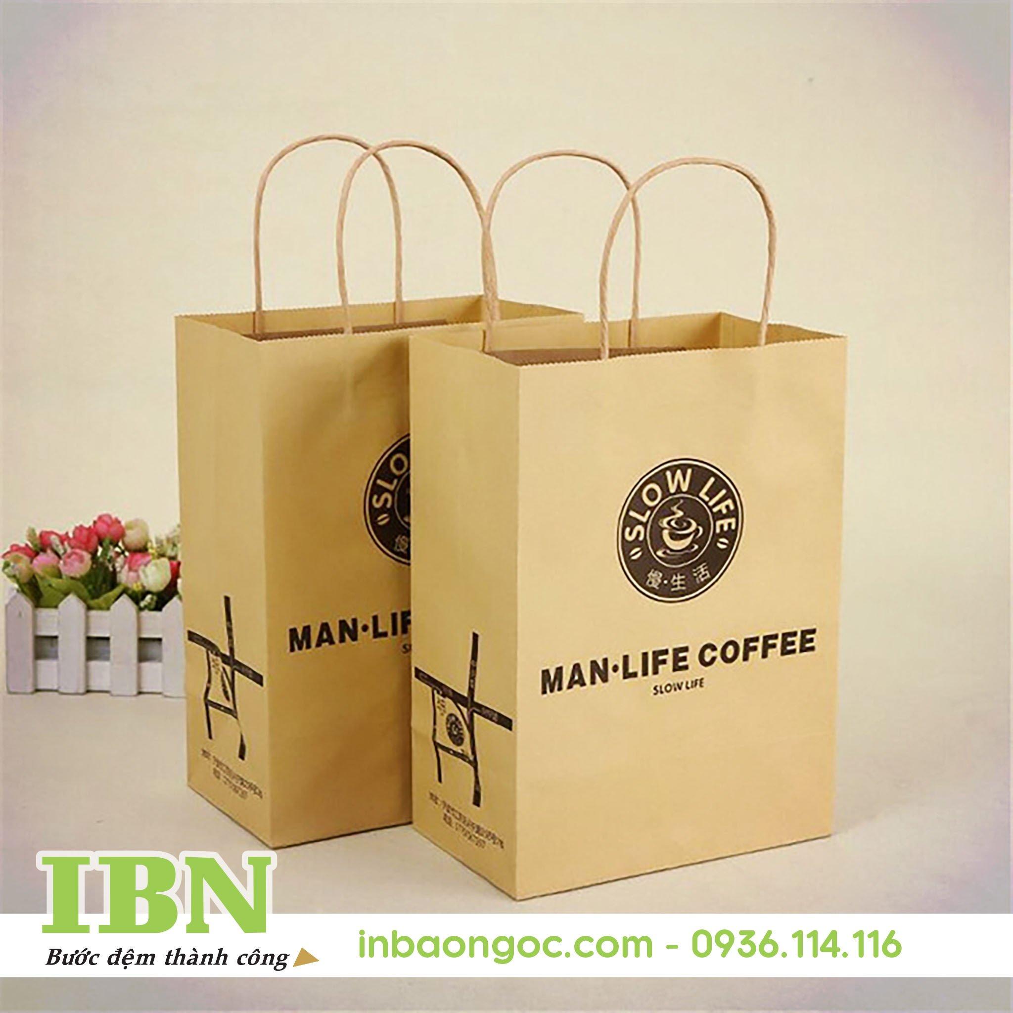 sản xuất túi giấy thân thiện môi trường giá rẻ