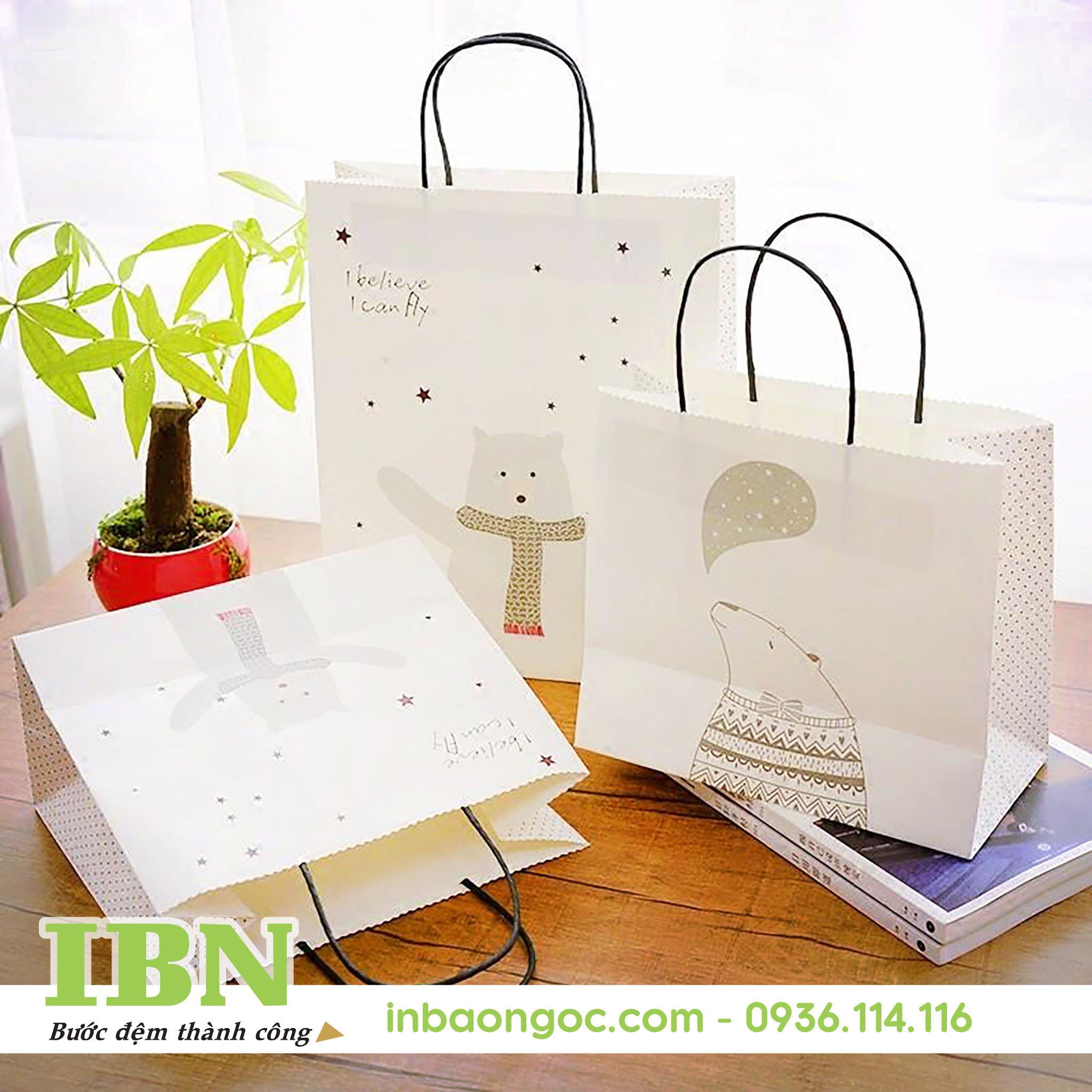 sản xuất túi giấy thân thiện môi trường đẹp