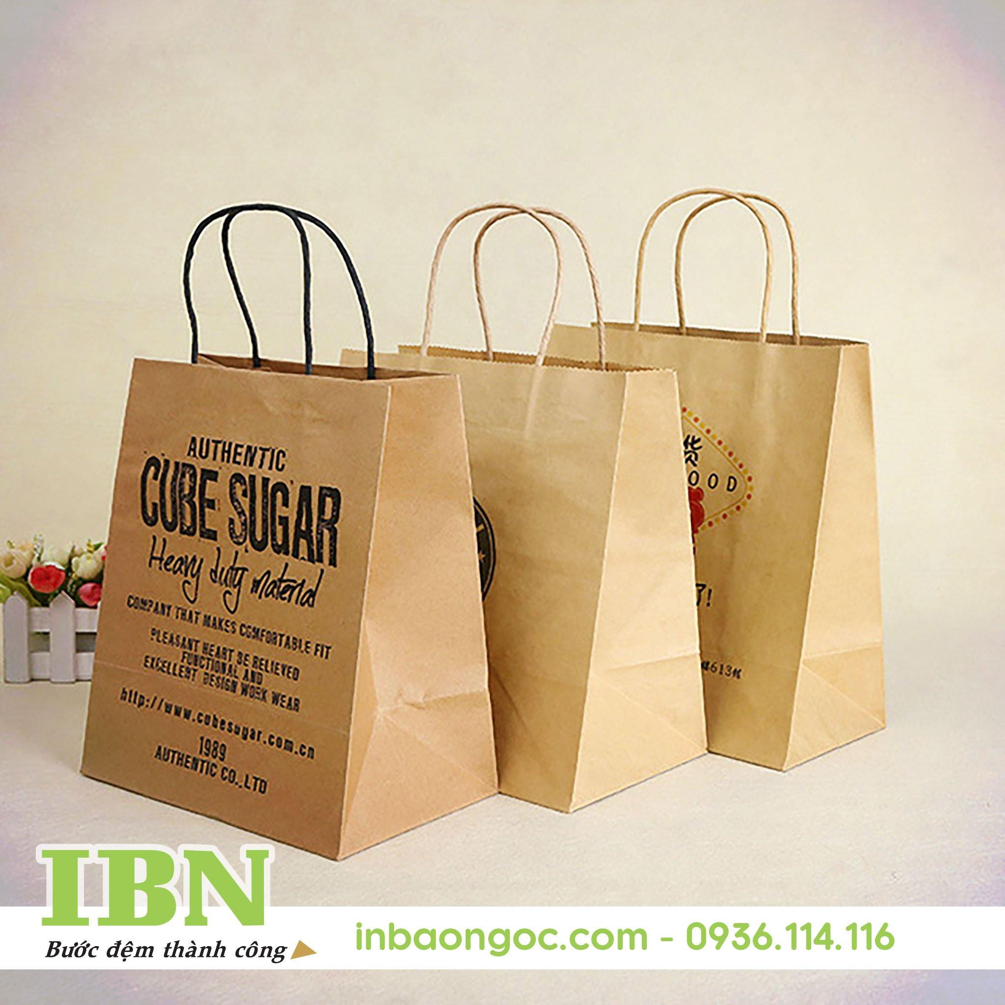 sản xuất túi giấy thân thiện môi trường chất lượng