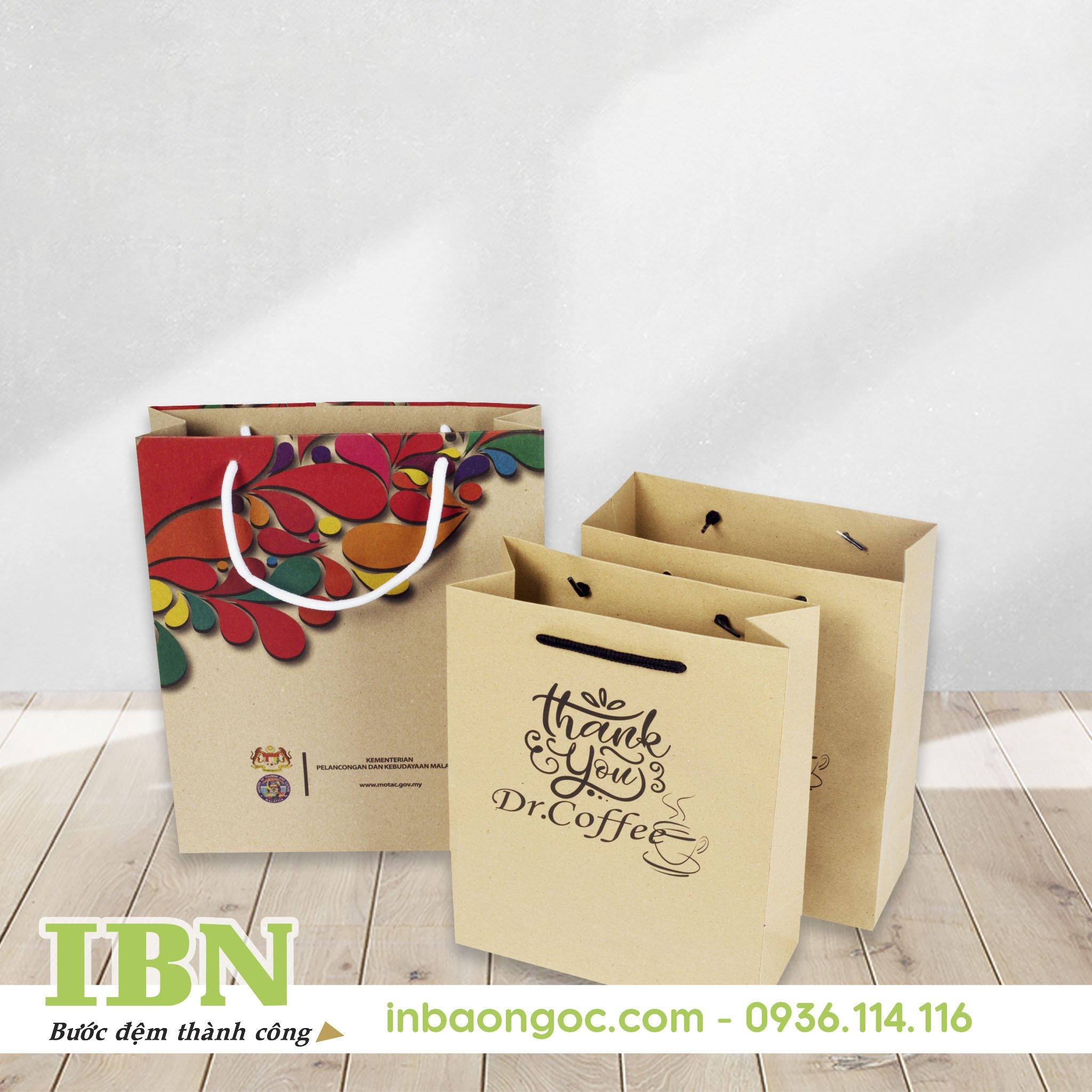 sản xuất túi giấy bảo vệ môi trường đẹp