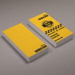 mẫu card visit đẹp IBN